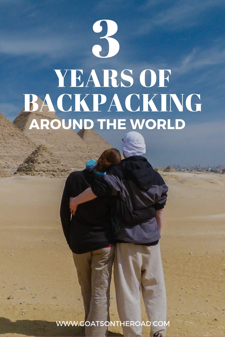 Stats From Our 3 Years Of Backpacking Around The World