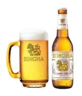 Drinking Singha and backpacking thailand