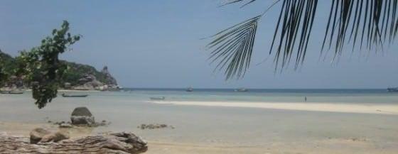 Backpacking Thailand - A Beach On Ko Tao