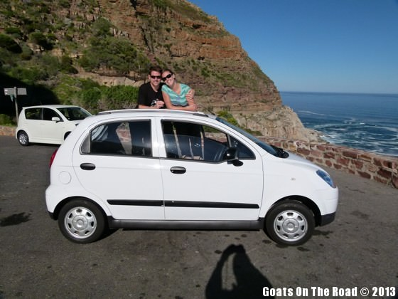 rent a car in south africa