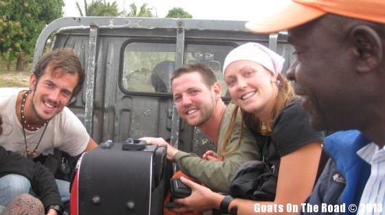 Backpacking Mozambique A Ride In The Back Of A Pickup.. All A Part Of The Adventure!