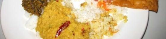 Sri Lankan Food while backpacking Sri Lanka