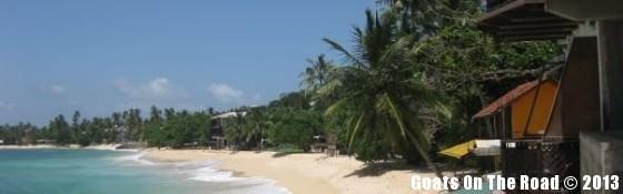 Unawatuna Beach Backpacking Sri Lanka