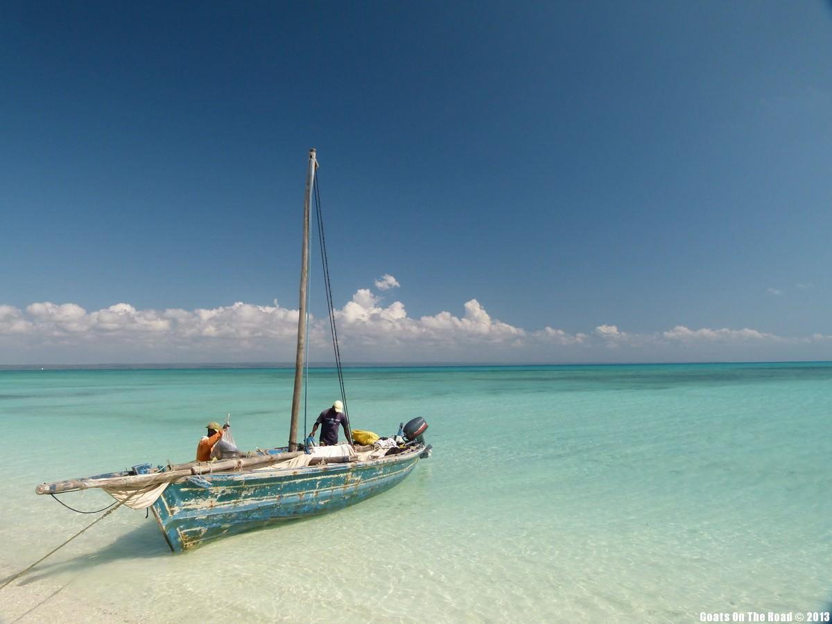 our sailboat quirimbas