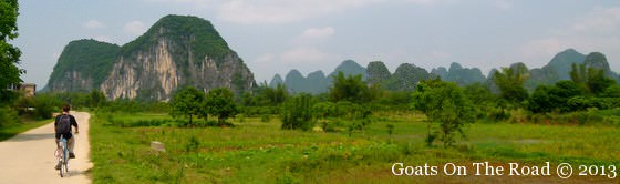 Cycling Yangshuo, China Travel