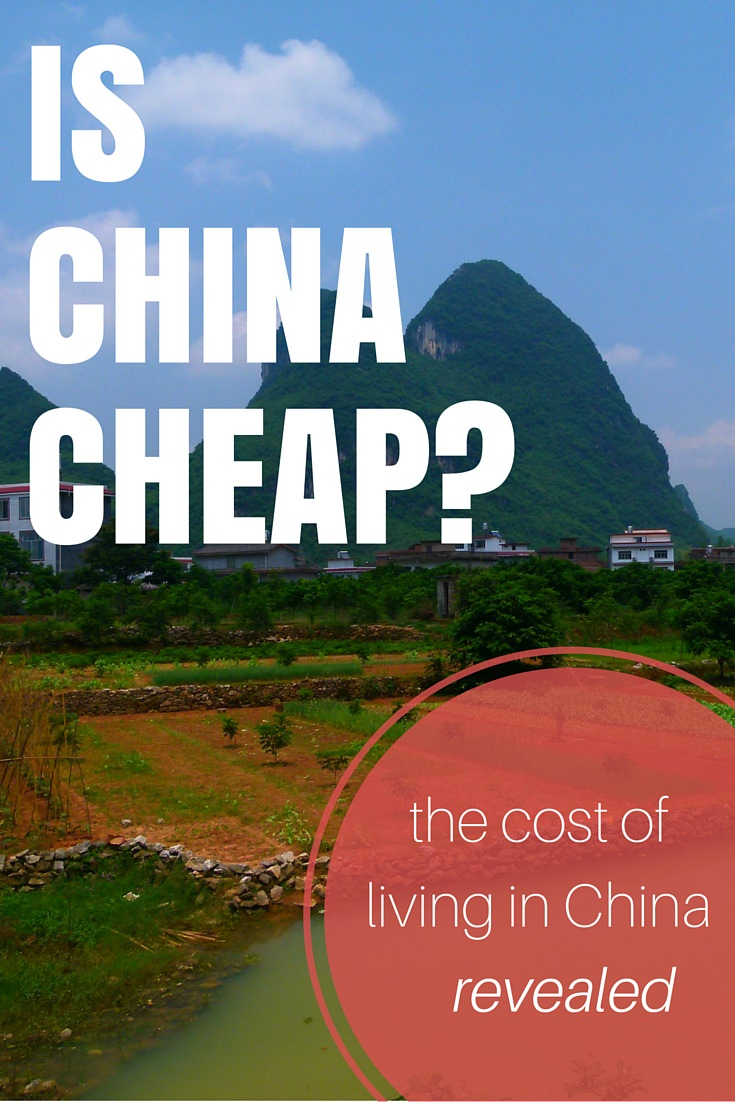 is china cheap the cost of living in china revealed