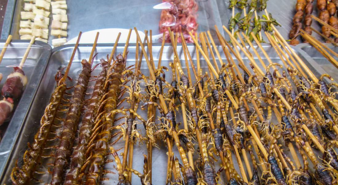 Weird Food in China