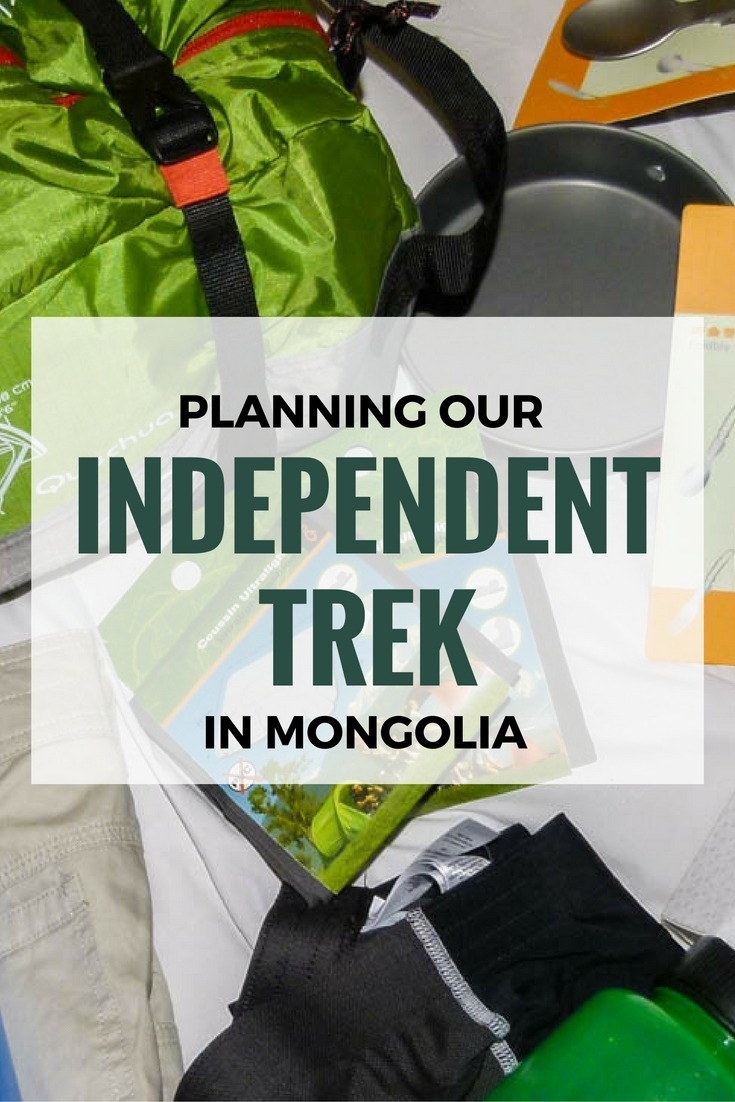 Planning Our Independent Trek In Mongolia