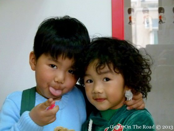 children in china