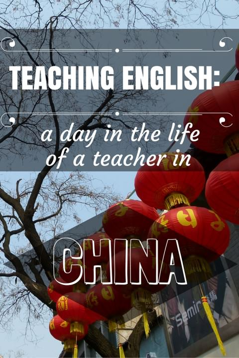 teaching english- a day in the life of a teacher in china