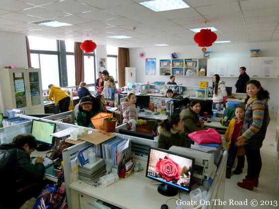 being an english teacher in china