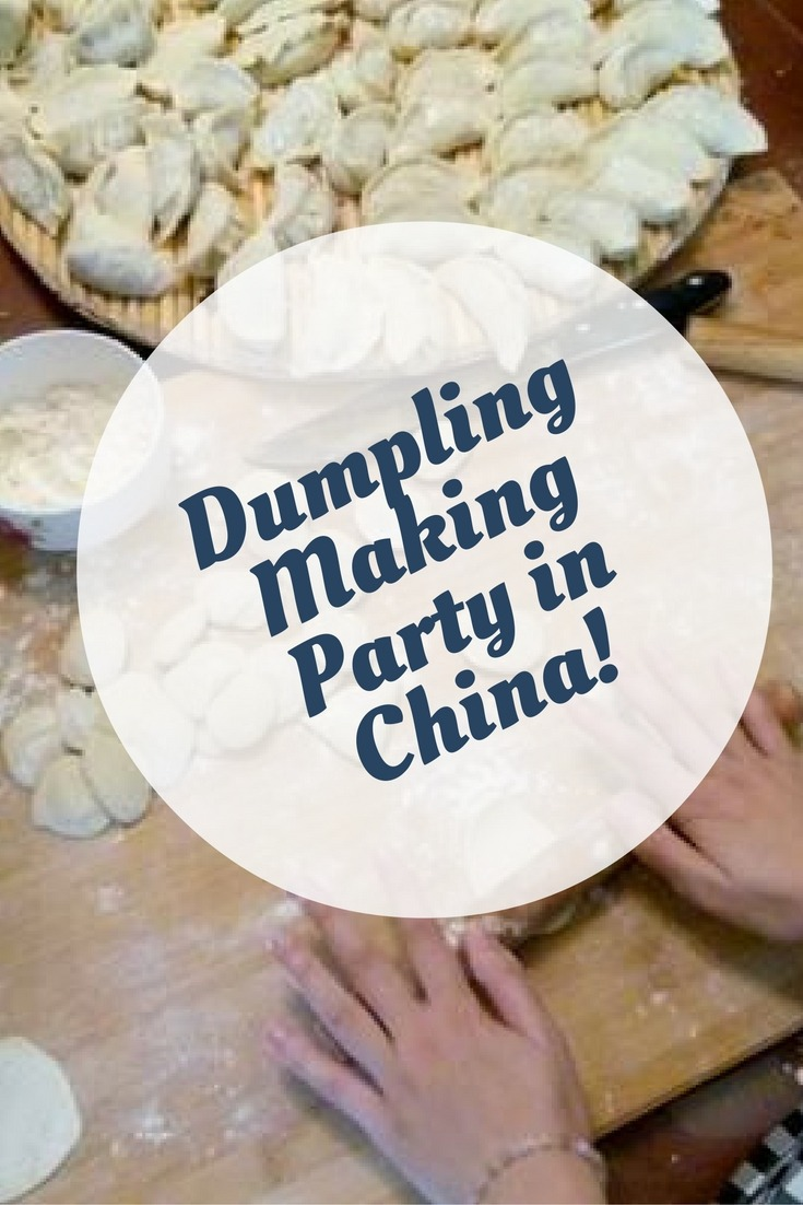 Dumpling Making Party in China!