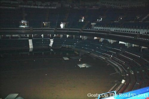 The Calgary Saddle Dome. Flooded To The 9th Row
