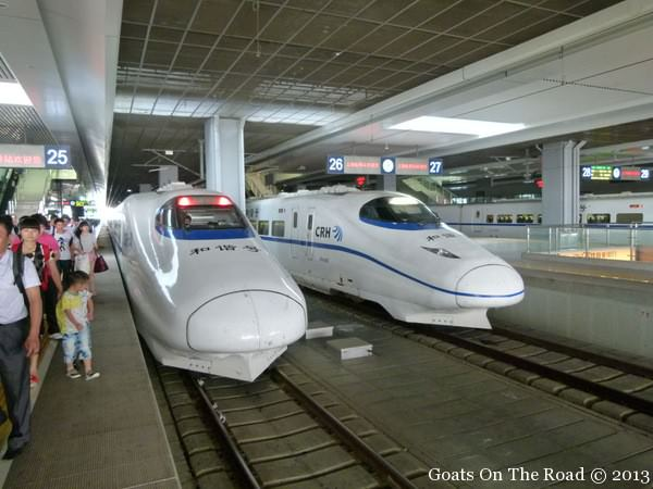 train travel in china