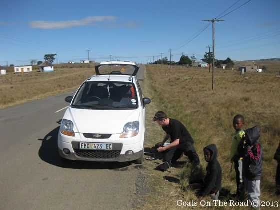 road trip in south africa