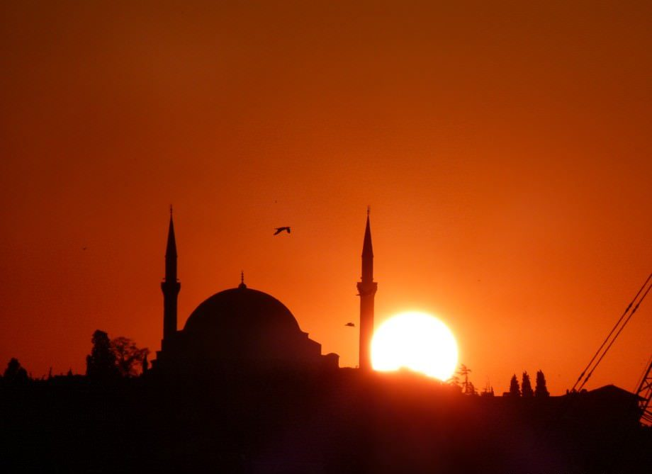 istanbul sunset quotes about Turkey Sunsets