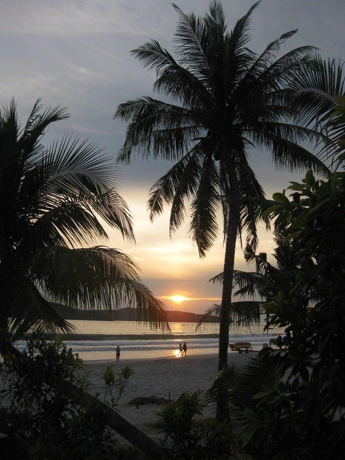 sunset langkawi quote