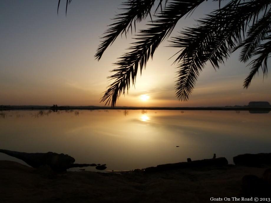 siwa oasis sunset