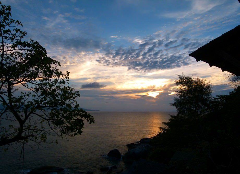 koh phangan sunset quotes