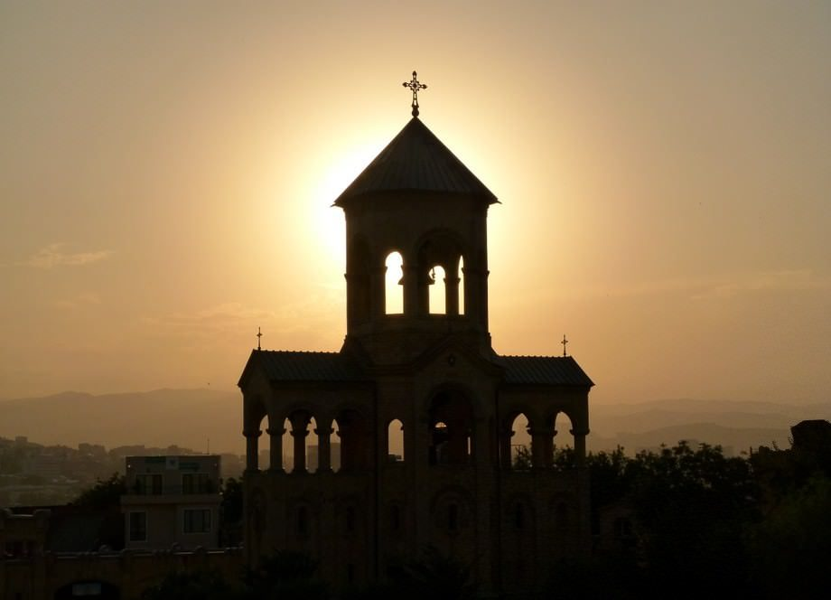 sunset sayings about tbilisi