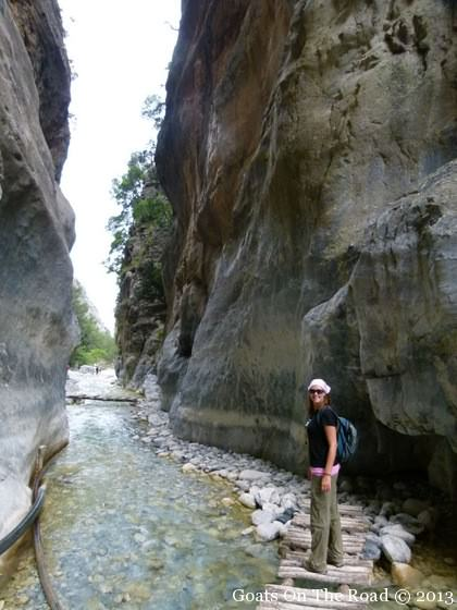 Holiday In Crete - Hiking The Samaria Gorge