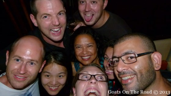 Us With A Few Friends At Our Going Away Party In Yangzhou