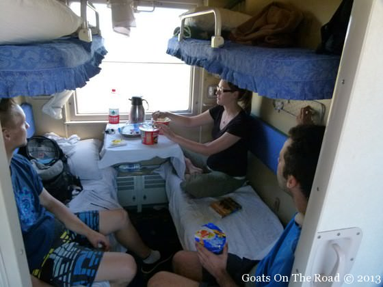 friends on the trans mongolian railway