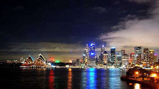 Sydney Harbour (Wiki-commons)