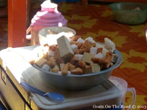 food in the gobi desert