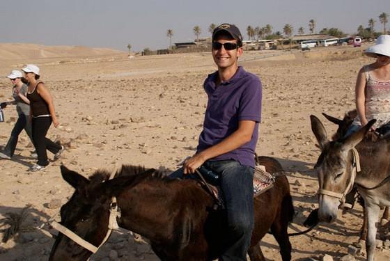 donkey riding israel