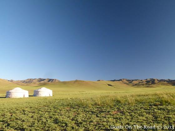 gers in the gobi desert