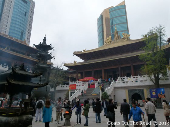 Jing'an Temple things to do in shanghai