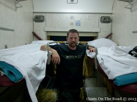 trans siberian train beds