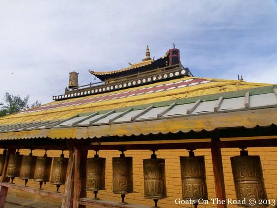 monastery in ulan bator