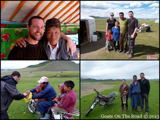 local people in mongolia