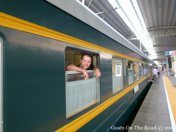 taking the trans mongolian train