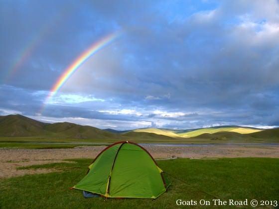 Trekking Rainbow In Mongolia