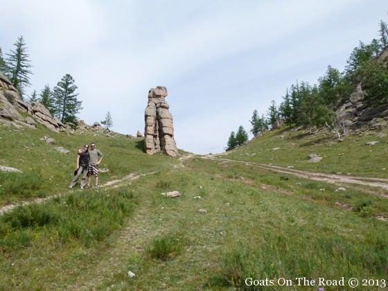 Hiking Terelj National Park