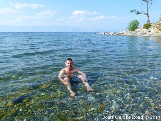Lake Baikal Backpacking