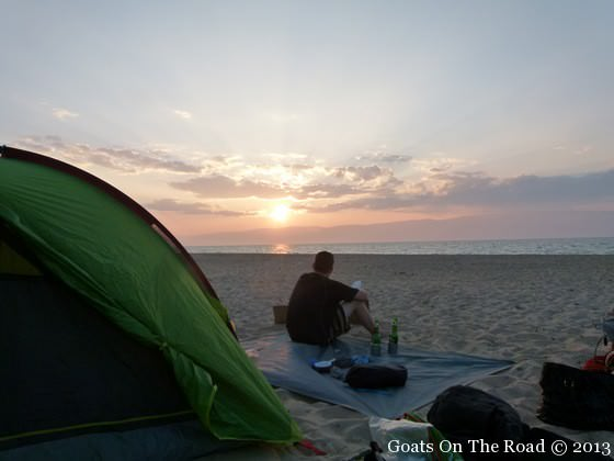 finding free accommodation camping