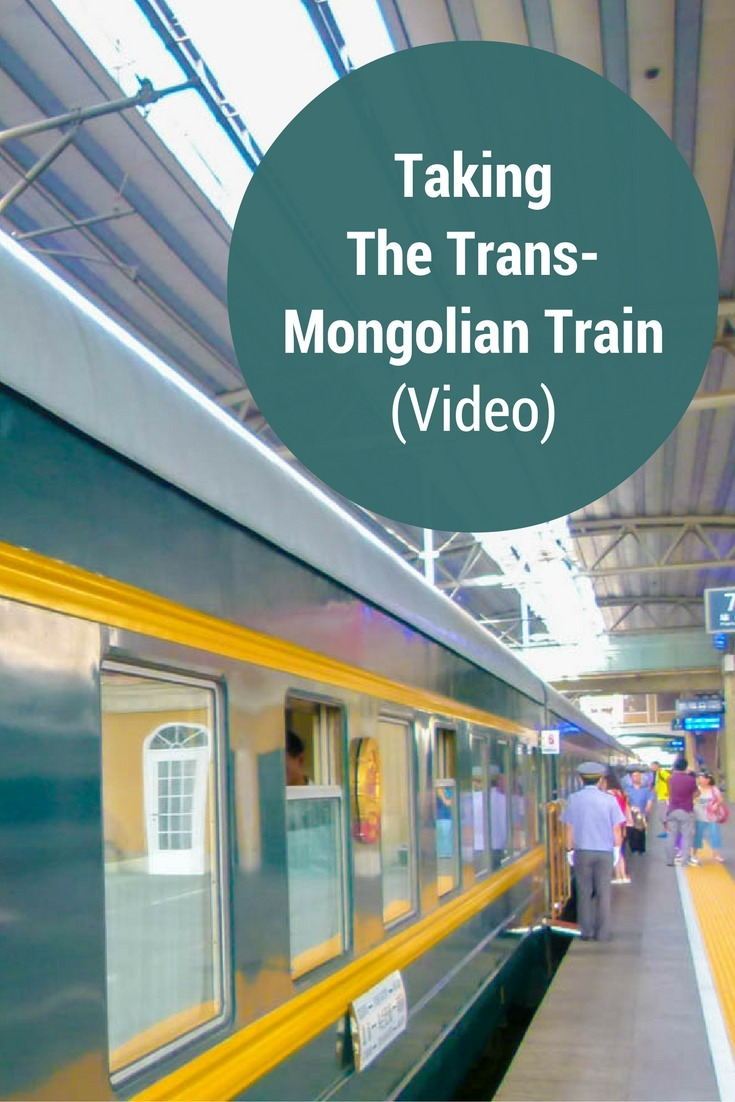 Taking The Trans-Mongolian Train (Video)