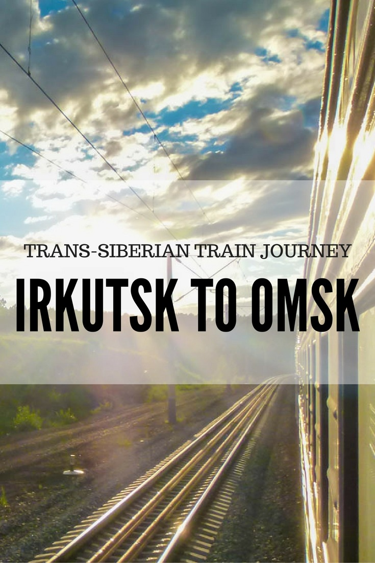 Trans-Siberian Train Journey: Irkutsk to Omsk