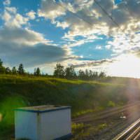 Trans-Siberian Train Journey: Irkutsk to Omsk