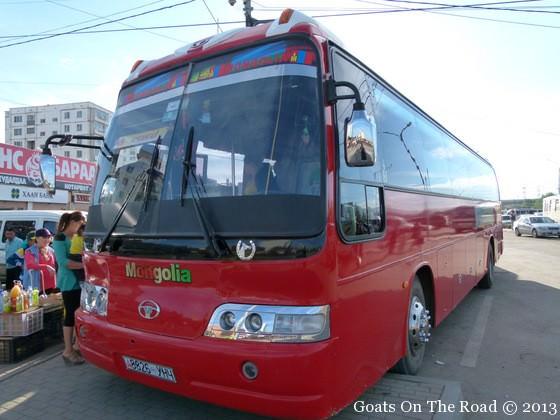 local bus mongolia