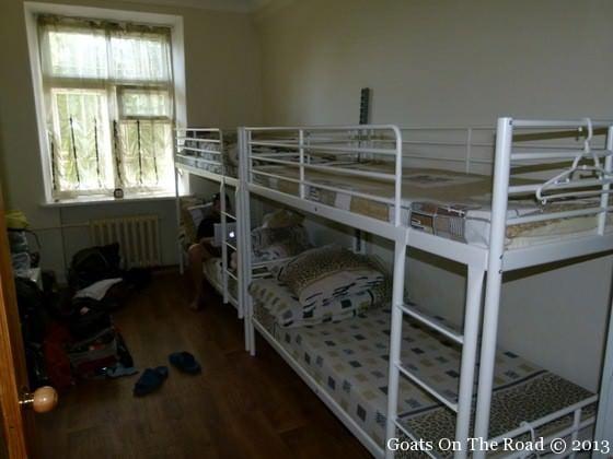 sleeping in dorm rooms