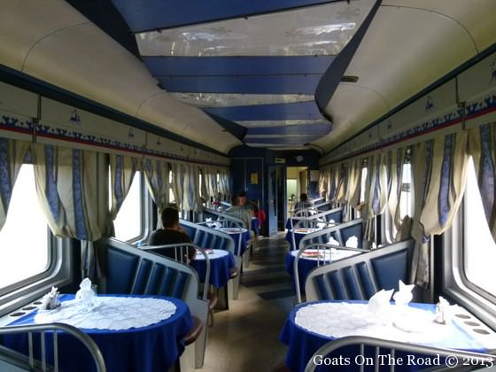 trains siberian train restaurant
