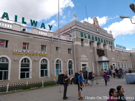 mongolia train station