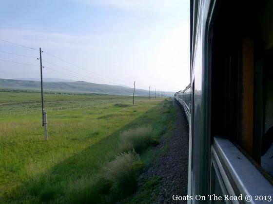 trans mongolian train ride