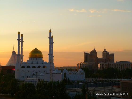 mosque in astana