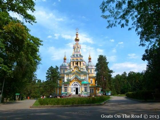 Cathedral In Panfilov Park Almaty, Kazakhstan